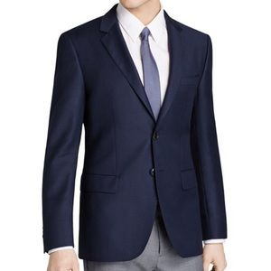 $495 Boss James Basic Wool Navy Blazer 40R.
